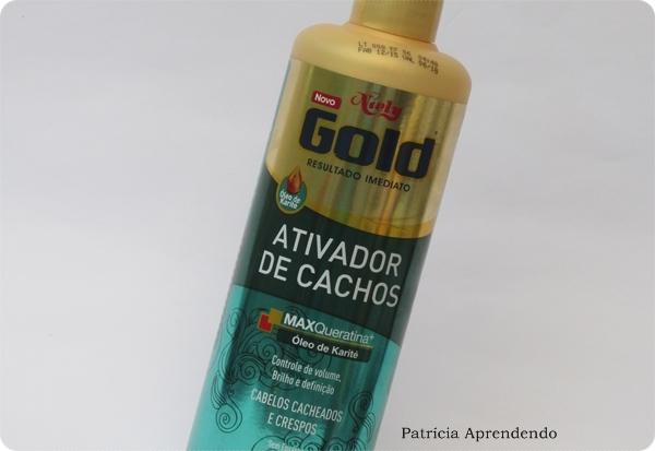 Niely Gold Ativador de Cachos