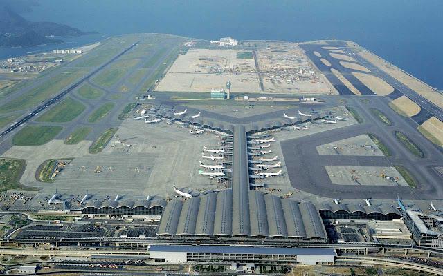 El aeropuerto de carga más transitado del mundo es el aeropuerto internacional de Hong Kong