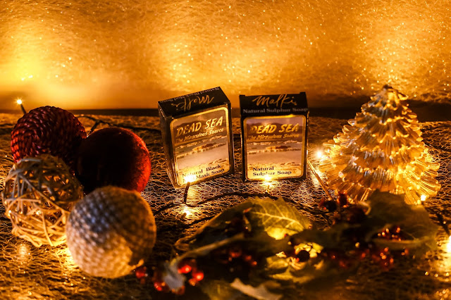 Dead sea soaps - perfect stocking filler. Christmas Gift Guide 2017 - Mandy Charlton's biggest ever Christmas gift guide. The only gift guide you'll need to find presents and gift ideas for the people you love this holiday season