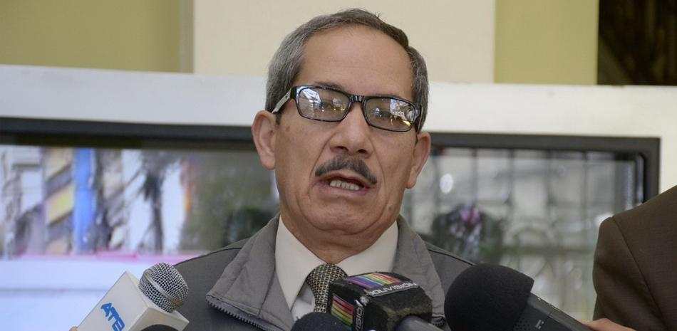 Secretario municipal de Seguridad Ciudadana, coronel José Luis Ramallo
