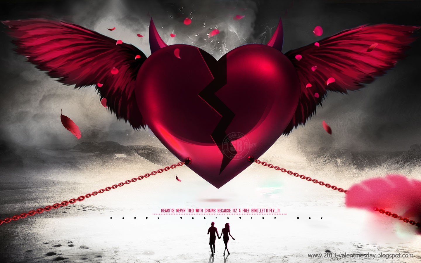 Happy valentines day 2016 hd wallpapers 1024px 1920px - Best heart wallpaper hd ...