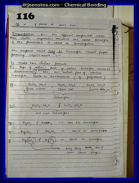Chemical-Bonding Notes class 11-20