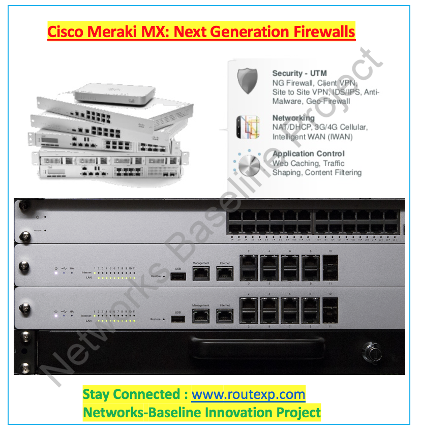 Cisco Meraki MX: Next Generation Firewalls - Route XP Networks