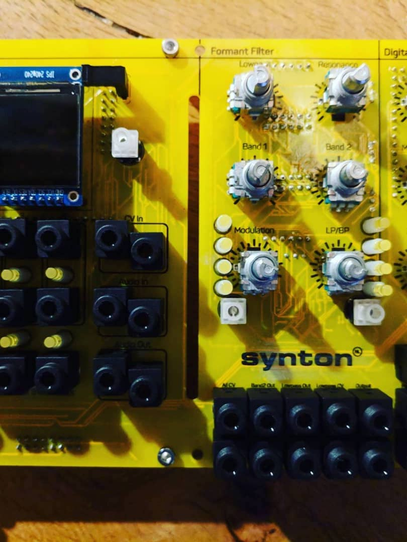 Matrixsynth New Synton Fenix Iv Progress Update Via Tinrs State Variable Filters Inverted Filter With Lowpass Highpass And Bandpass Inputs Instead Of Outputs We Like This Slightly Wacky In House Design Creating A