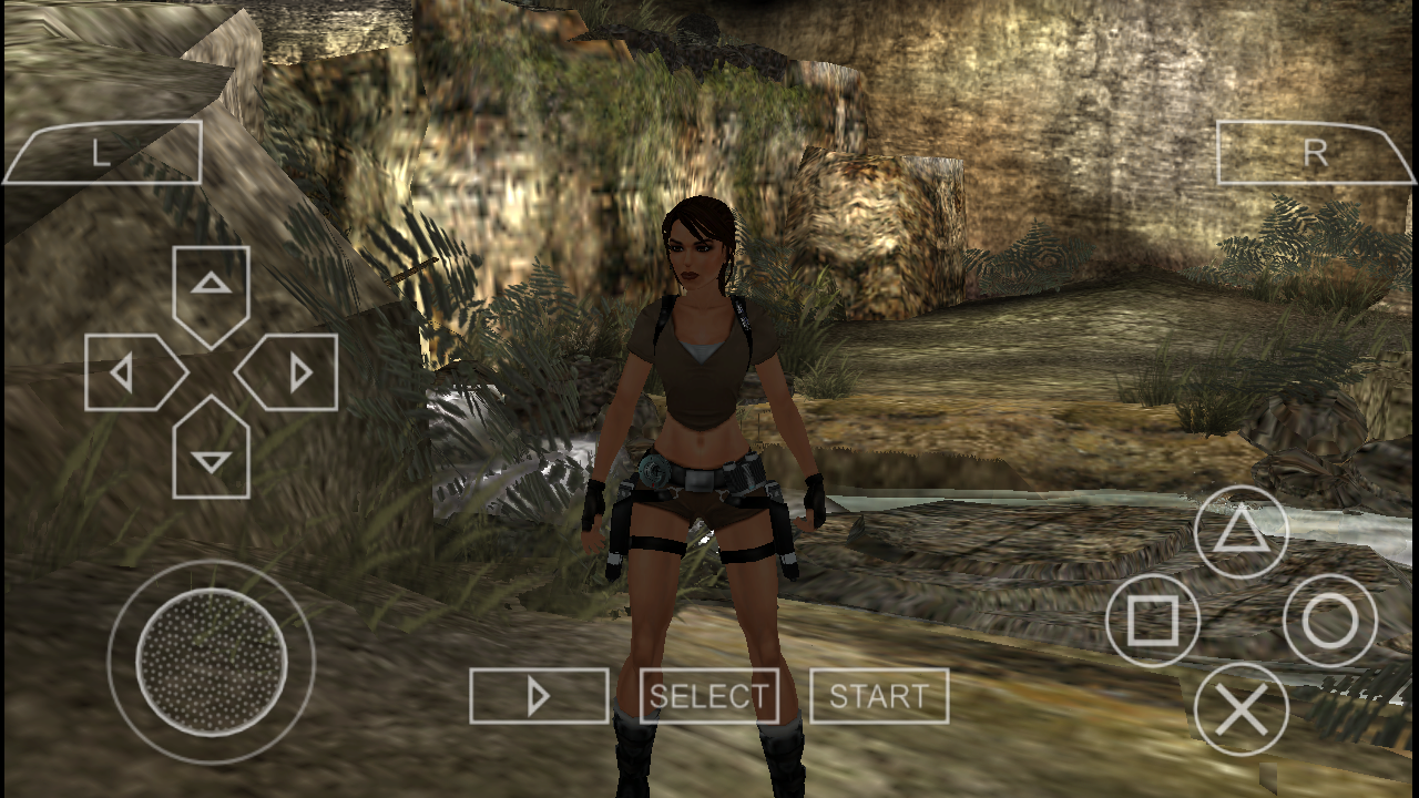 Tomb Raider Legend PSP CSO Free Download - Free PSP Games