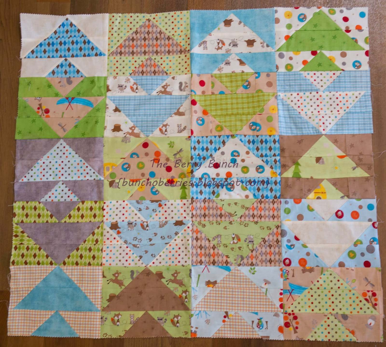 The Berry Bunch: 2015 Finish-A-Long: Jelly Roll Quilt