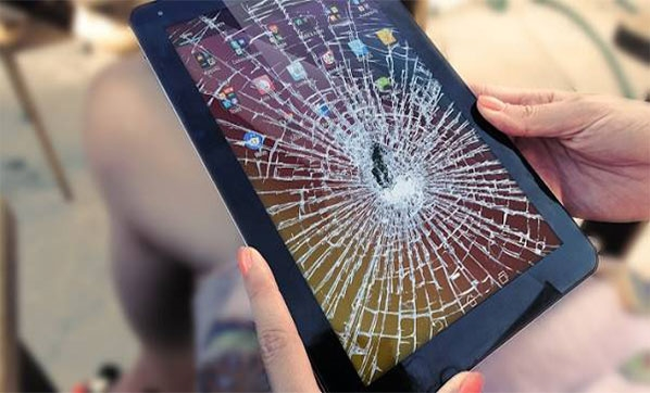 how to factory reset android tablet with broken screen