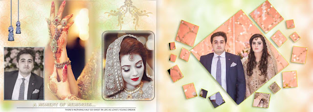 Engagement Album Design