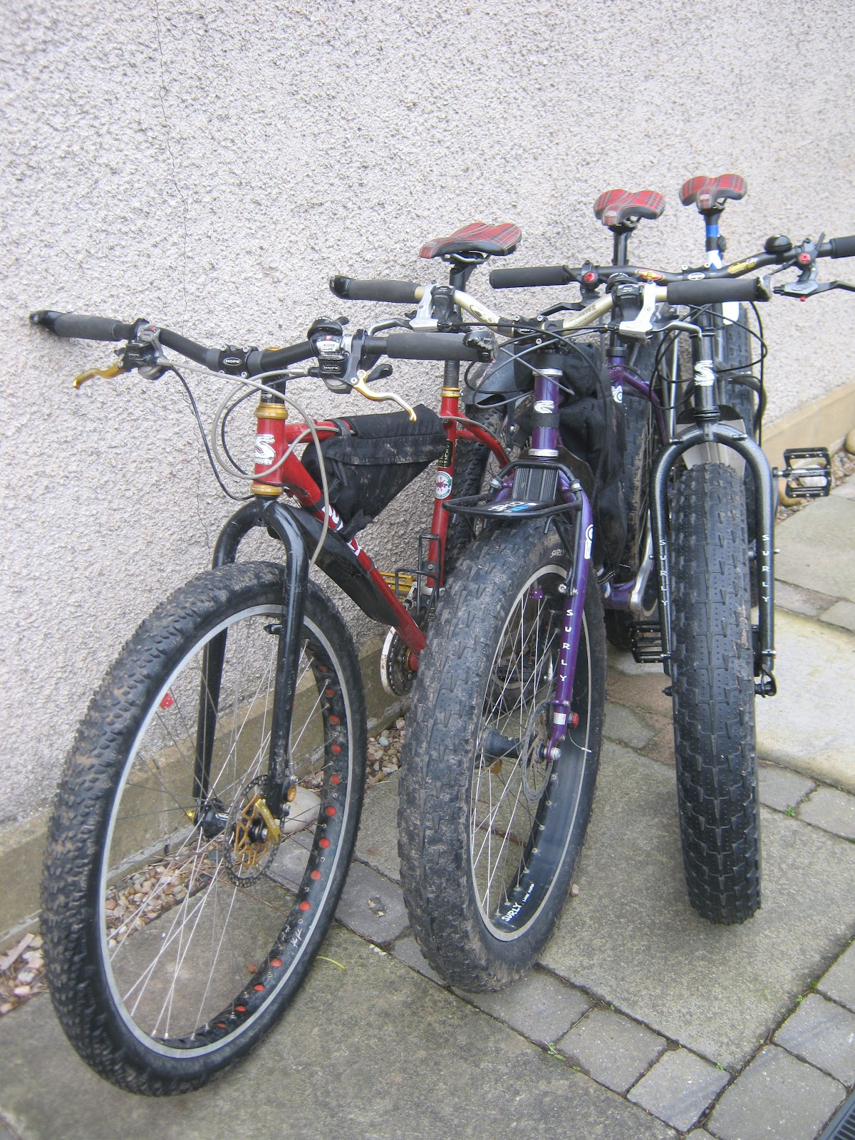 I think i now have the perfect off road bikes for here on the Scottish East  Coast... All are similar in many ways  34be63e75