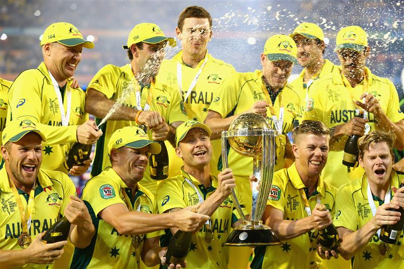 AUSSIES SQUAD FOR THE WORLD CUP 2019