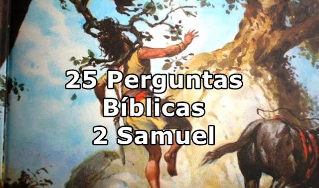 Perguntas biblicas 2 samuel
