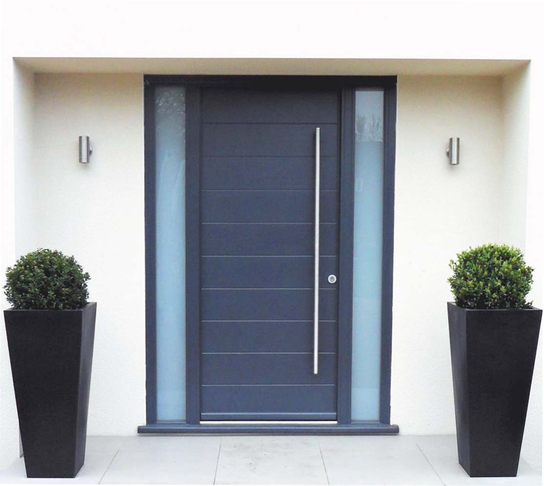 Contemporary front doors materials options for your house for Contemporary house doors