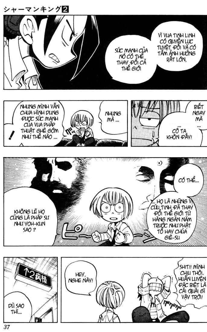 Shaman King [Vua pháp thuật] chap 10 trang 11