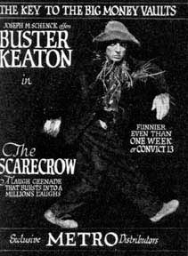 The Scarecrow keaton