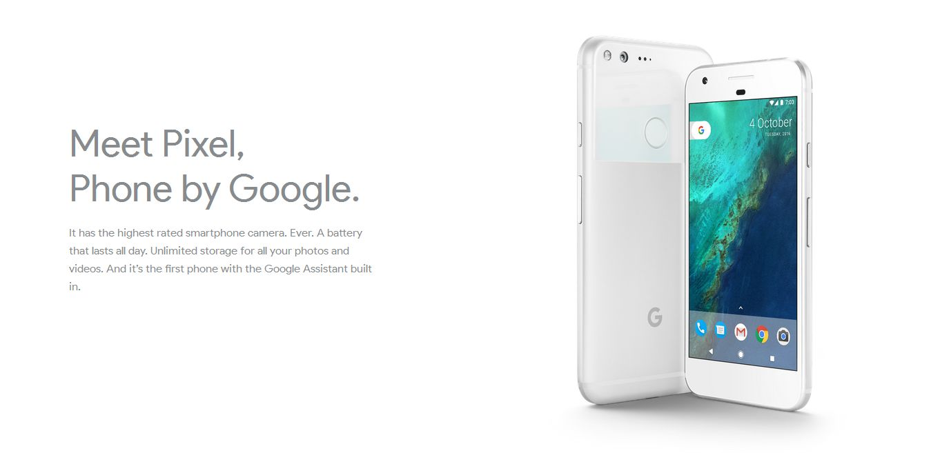 Google Pixel - Smart Phone - Meet Pixel, Phone by Google.