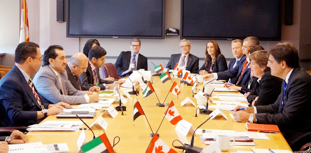 First Joint Economic Committee of UAE and Canada successfully holds preparatory meeting in Ottawa