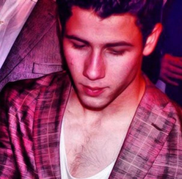 Chest Hair Watch W Nick Jonas Real Men Wear Fur