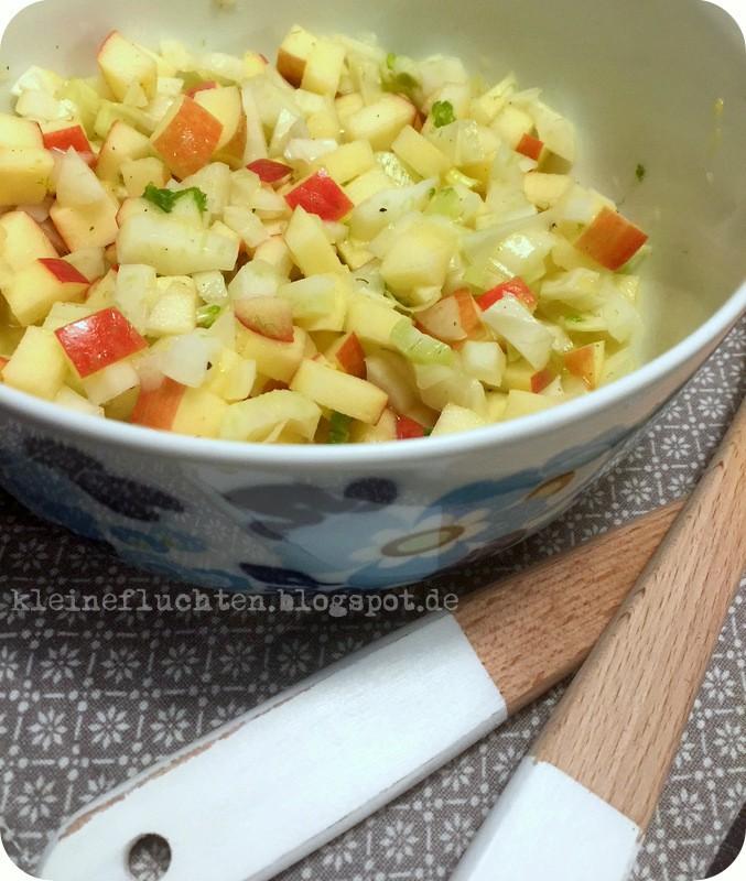 Schneller Fenchel Apfel Salat Kleine Fluchten Bloglovin