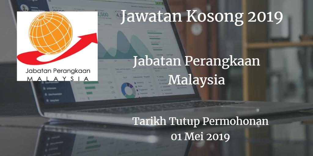 Jawatan Kosong Jabatan Perangkaan Malaysia 01 Mei 2019