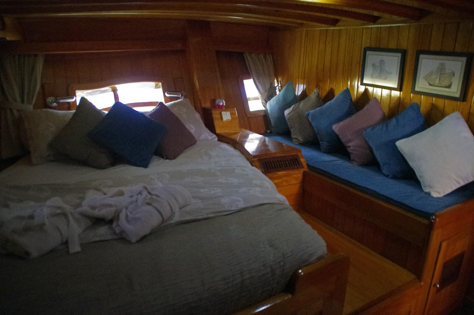 Master Bedroom Luxury Gulet Neyzen Travel Turkey