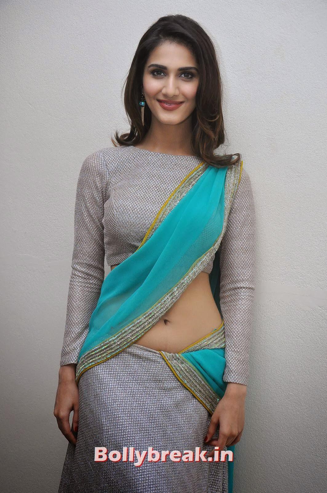 Vaani Kapoor Saree Navel Photo, Vaani Kapoor Images in Saree - Navel Photo Gallery