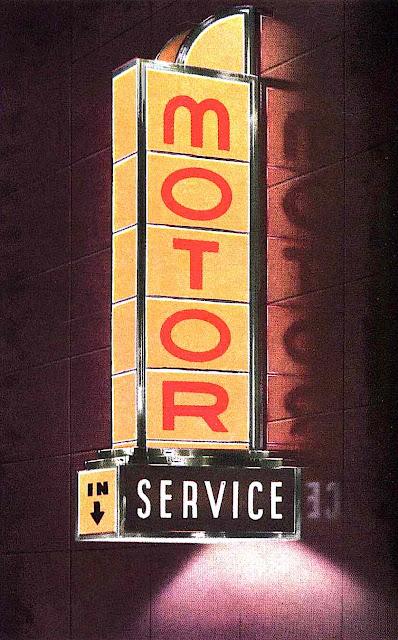 1941 Vitrolux Vitrolite sign