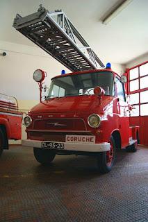 Opel Blitz equipada com Escada Magirus