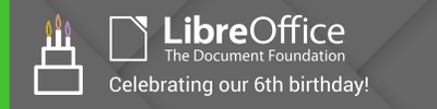 LibreOffice BirthDay Image