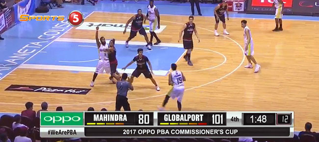 GlobalPort def. Mahindra, 105-86 (REPLAY VIDEO) April 23