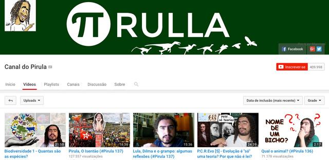 https://www.youtube.com/user/Pirulla25