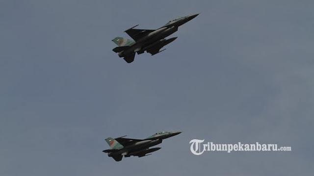 Dua Pesawat Tempur Asing Masuk Wilayah Natuna, TNI AU Kerahkan F16