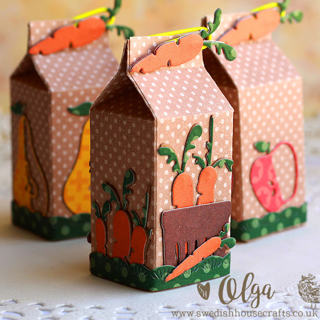 Milk Carton Mini Boxes | By Olga