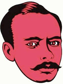 Dibujo a la cara de Leoncio Prado