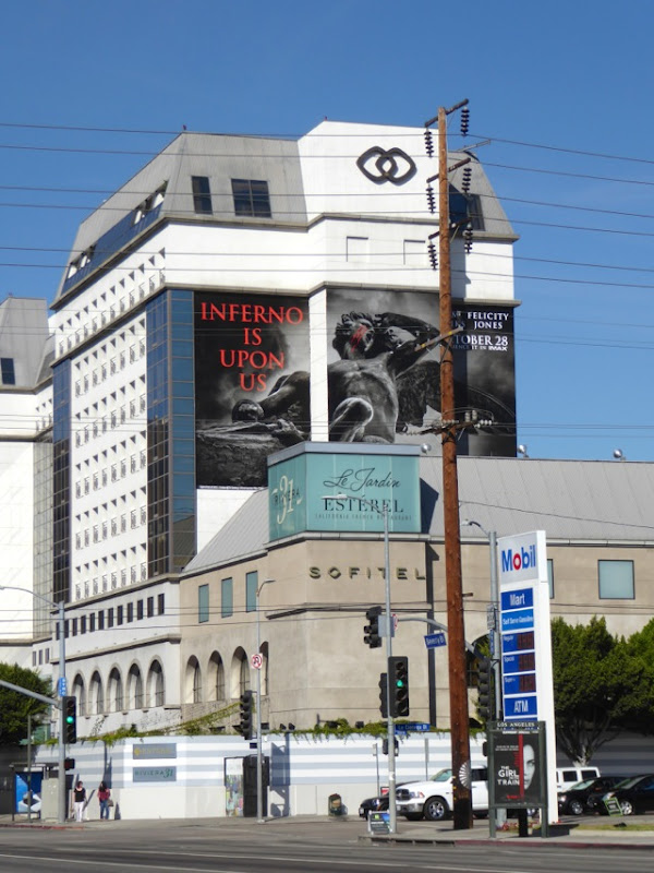 Giant Inferno movie billboard