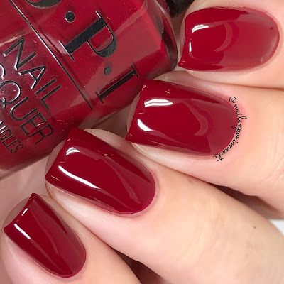 opi gingers revenge holiday 2018 the nutcracker and the four realms review