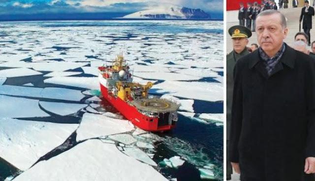 Η Τουρκία βάζει στο μάτι και την Ανταρκτική!