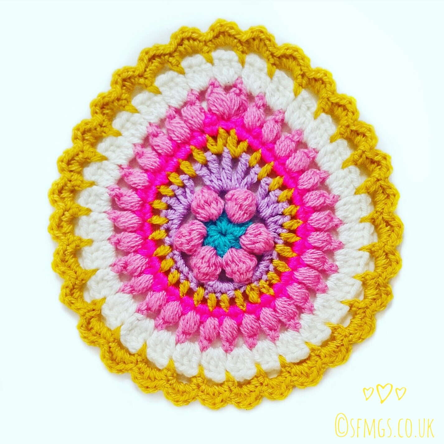 Set Free My Gypsy Soul | a Crochet Craft blog : Easter Egg Mandala ...