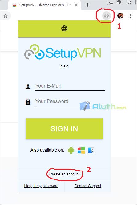 SetupVPN - Free VPN for chrome browser