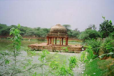 Hauz-i-Shamsi, the tank of Iltutmish