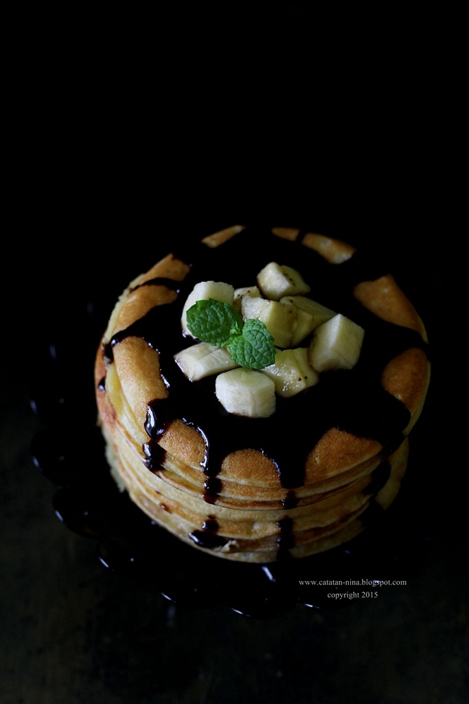 banana pancake   catatan nina aneka resep masakan rumah