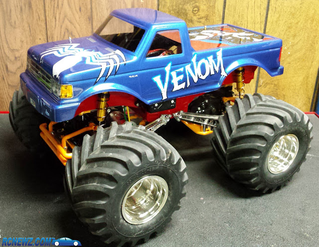 Tamiya Bullhead Custom Body Gold Shocks