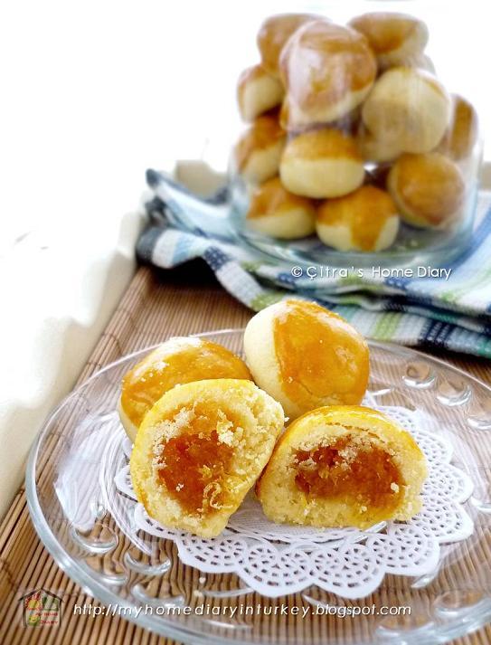 Citra's Home Diary: #Nastar Klasik / Indonesian classic pineapple tarts  cookies
