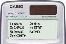 Mengatur Kontras Display Pada Kalkulator Casio Scientific FX-991ID Plus
