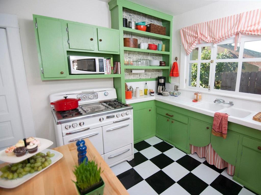 28 Fotos de cozinhas estilo retro ~ Decoração e Ideias casa e  #8F5D3C 1024 768