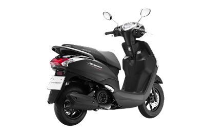Yamaha Acruzo 125cc Hd Picture rear view
