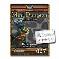 Frugal GM Review: Mini Dungeon #27 Kaltenheim