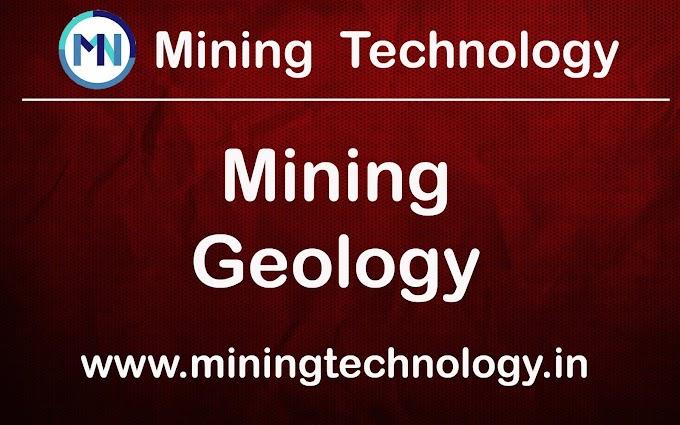 MINING GEOLOGY