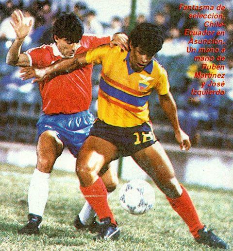 Ecuador y Chile en Copa Boquerón, 29 de septiembre de 1988