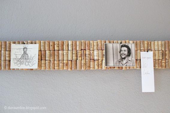 Kork Pinnwand Selbst Gemacht Wohn Design Selber Machen Diy