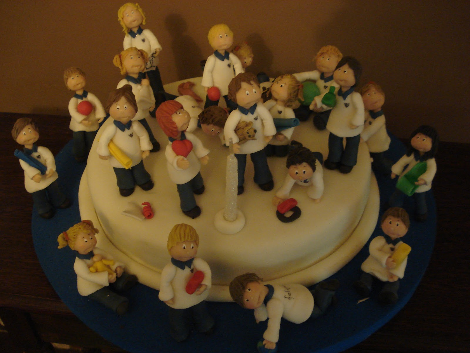 Tortas by annette festejando el cumple con los amigos del for Amigos del jardin